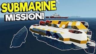 SUBMARINE SINKING SHIP SURVIVAL RESCUE! - Stormworks: Build and Rescue Multiplayer Gameplay