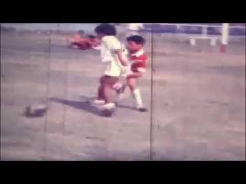 Así jugaba Maradona en los Cebollitas: un video poco visto de la magia de Pelusa
