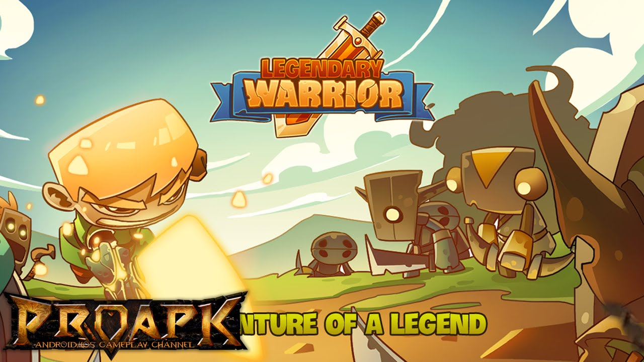 legendary warrior gameplay ios android youtube
