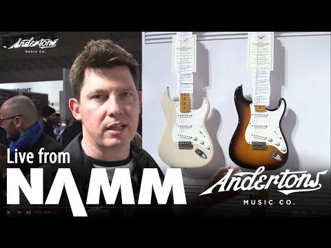 Fender Custom Shop Eric Clapton Journeyman and more - NAMM 2017