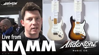Fender Custom Shop Eric Clapton Journeyman and more - NAMM 2017