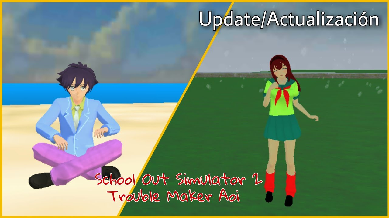 [Update/Actualización]Added  Editable Uniform 👔👟  Más Uniformes Editables [School Out Simulator 2]