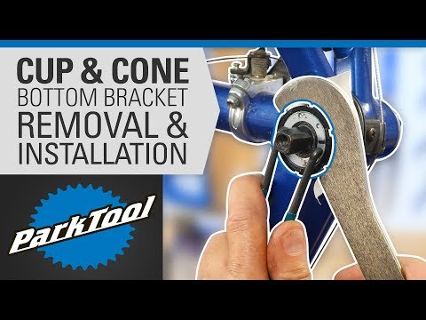 How To Remove And Install Bottom Brackets - Cup & Cone