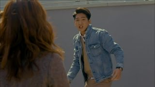 【TVPP】Baro(B1A4) - Assaulted by Woman, 바로(비원에이포) - 조방울 주먹질, 엎어치기에 속수무책 당하는 상태 @ Angry Mom