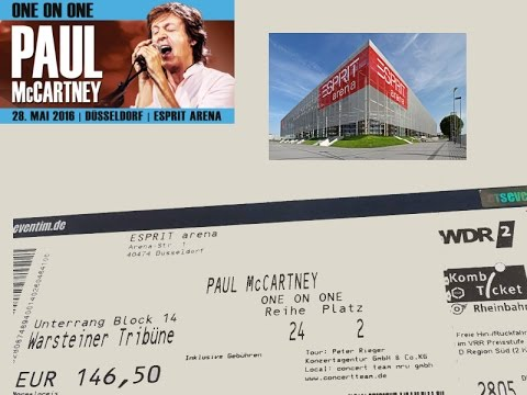 Paul McCartney - Düsseldorf Esprit Arena - May 28, 2016