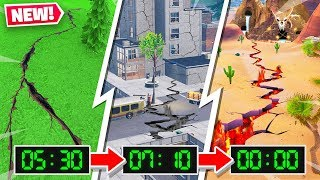 EARTHQUAKES ARE DESTROYING FORTNITE MAP!