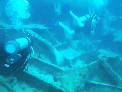 кораблекрушение подводное плавание с аквалангом