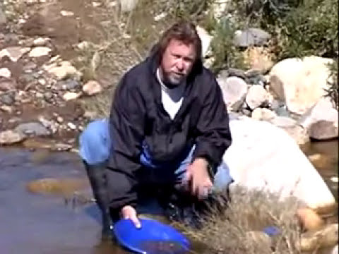 This old prospector - Gold Panning