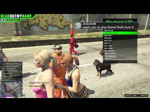 GTAV SkyAcro V5.5 Mod Menu + Download 1.27/TU27