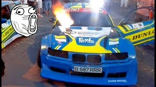 Bmw E36 M3 Turbo 500 HP + Launch Control and Anti Lag - Drift Event Constanta 2017