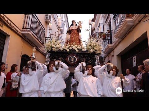 VÍDEO: Algunos retazos de la procesión de Santa Teresa