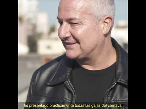 PRESENTACIÓN DE ROBERTO HERRERA,  PREGONERO DEL  CARNAVAL2020