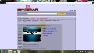How to get Free Music with mp3bear.com | Voice Tutorial