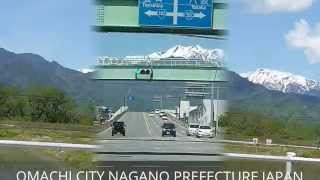 **  NORTHERN JAPAN ALPS MOUNTAIN RANGE  **