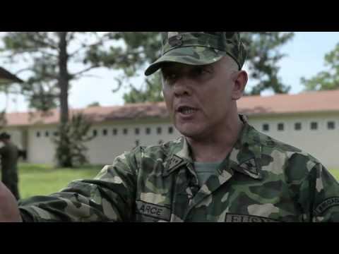Uruguayan Marine Sgt. Martin Arce (Spanish)