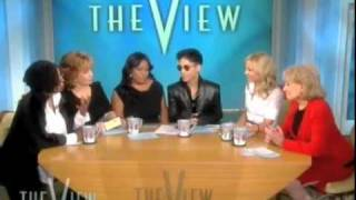 """Prince """"Flees from Fornication"""" on The View"""