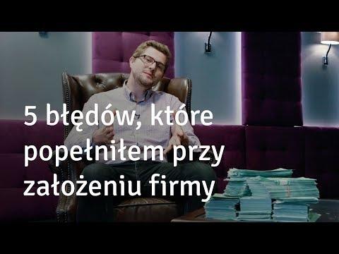 5 błędów, kiedy zakładałem moją firmę - Karol Wyszyński