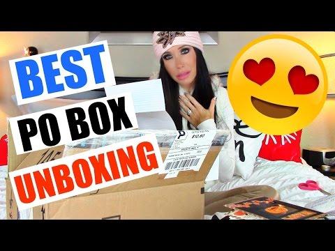 BEST PO BOX UNBOXING EVERRRRR