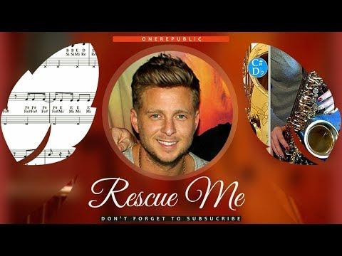 Rescue Me Sheet Music Saxophone (Tenor) - OneRepublic Rescue Me Tutorial thumbnail