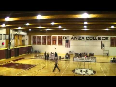 De Anza vs. Hartnell College Men's Basketball FULL GAME 1/20/16