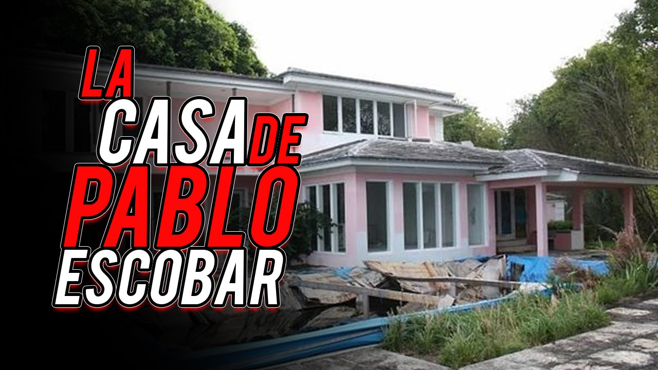 la casa de pablo escobar colombia youtube. Black Bedroom Furniture Sets. Home Design Ideas
