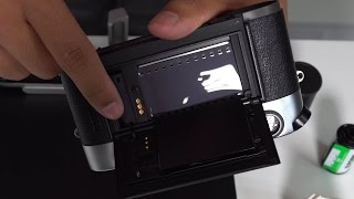 Loading  and Unloading Film in a Leica M4 M5 M6 M7 M-A MP