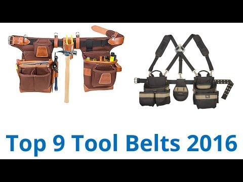 9 Best Tool Belts 2016