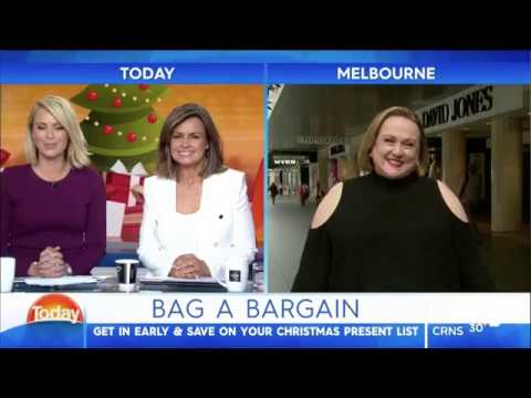TODAY bag a Xmas Bargain 12 oct 2016