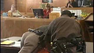 Convicted Murderer Fights Deputies At Sentencing 2010