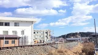 三陸鉄道リアス線(JR山田線)試運転 宮古行