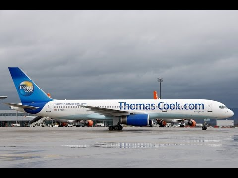 FSX B 757-200 Thomas Cook  Flight from Munich to Thessaloniki