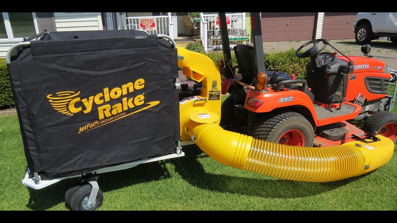 Cyclone Rake For Sale >> Cyclone Rake Z10 For My Kubota Bx2360 Delivery Assembly Quality
