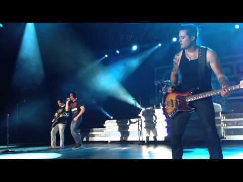 "3 Doors Down ""There's A Life"" Kassel Rothenbach-Halle live"
