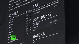 В Лондоне открылось кафе, в котором принимают биткоины