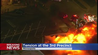 Another Large Fire Near MPD's 3rd Precinct