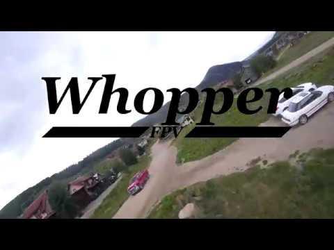 FPV Drone Freestyle: Close Encounters