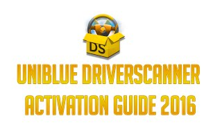 Uniblue - DriverScanner 2016 Full Activation Guide Free + Serial Key