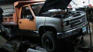 1990 Chevy K3500 Dump Truck Walk Around