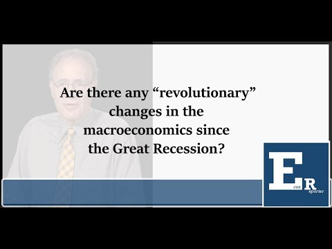 """Larry Christiano on whether there is a """"Keynesian Revolution"""" after the Great Recession?"""