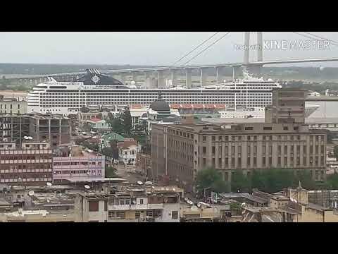 Sea cruiser at Maputo Port ( edited)