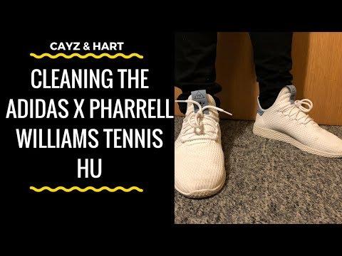 How To Clean the Adidas x Pharrell Williams Tennis HU