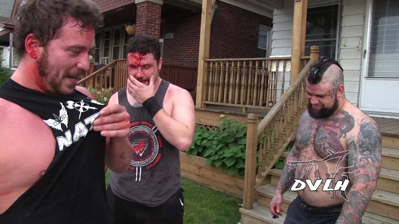 Conor Claxton Danny Havoc And Shlak In Milwaukee Youtube