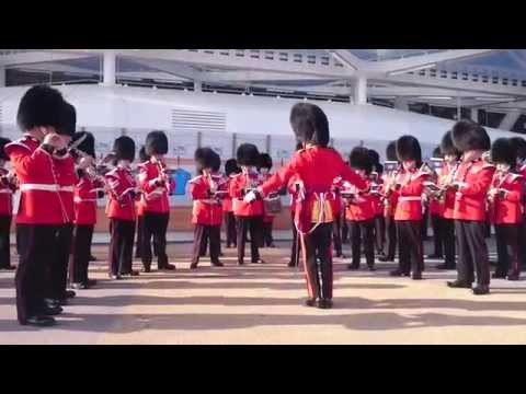 Military Band at Rugby World Cup