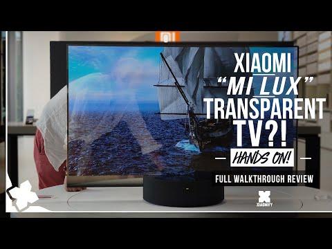 Xiaomi LUX - transparent tv?! -Hands on in Beijing! [xiaomify]
