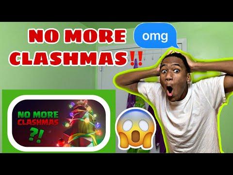 No More CLASHMAS?! (REACTION)!!!