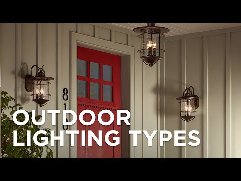 Outdoor Lighting Fixtures Porch Patio Exterior Light