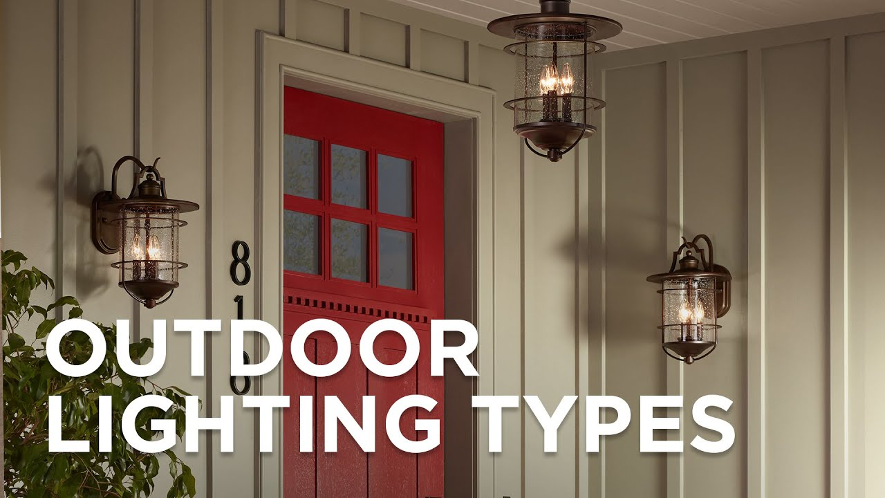 Outdoor Lighting Types - Outdoor Light Guide - Lamps Plus - YouTube