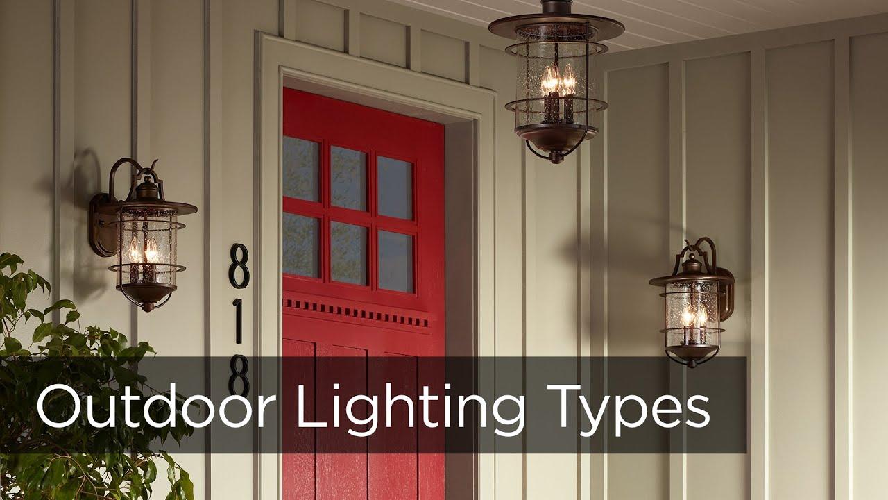 outdoor lighting fixtures porch