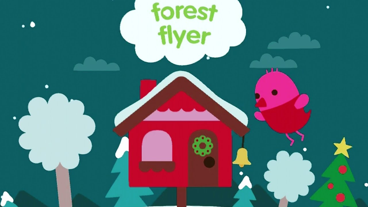 [VIDEO] - Sago Mini Forest Flyer - Winter Wonderland Cute Flying Adventure Cartoon Game for Kids and Toddlers 5