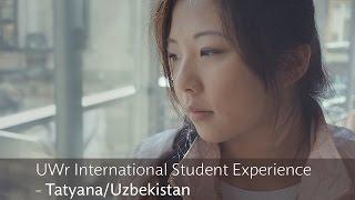 UWr International Student Experience - Tatyana/Uzbekistan